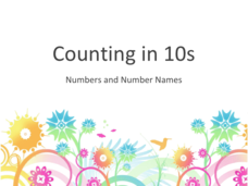 Counting in 10's Presentation
