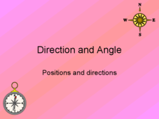 Direction and Angle: Positions and Directions  Presentation