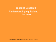 Fractions Lesson 3 Presentation