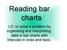 Reading Bar Charts Presentation