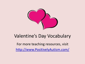Valentine's Day Vocabulary Worksheet