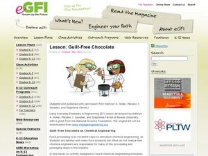 Lesson: Guilt-Free Chocolate Lesson Plan