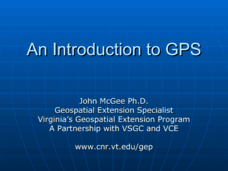 An Introduction to GPS Presentation