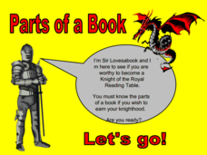Parts of a Book Presentation