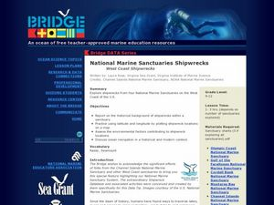 National Marine Sanctuaries Shipwrecks Lesson Plan