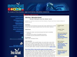 Winter Wonderland - Winter Olympics and the Water Cycle Lesson Plan