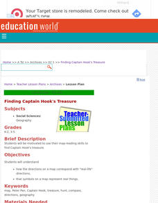 Finding Captain Hook's Treasure Lesson Plan