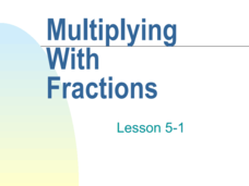 Multiplying With Fractions Presentation