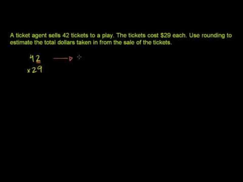 Multiplying Whole Numbers and Applications 4 Video