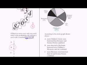 CAHSEE Practice: Problems 13-14 Video