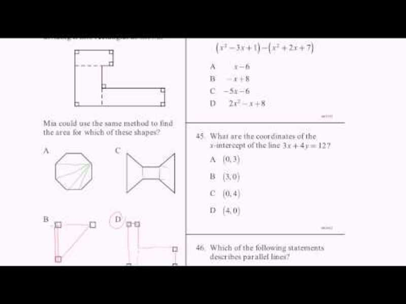 CAHSEE Practice: Problems 43-46 Video