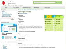 Finding Patterns Lesson Plan