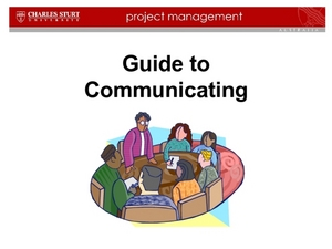 Guide to Communicating Presentation