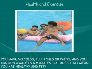 Health and Exercise Presentation