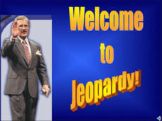 Jeopardy Review Game: Westward Expansion Presentation