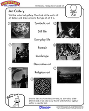 Art Classification Worksheet