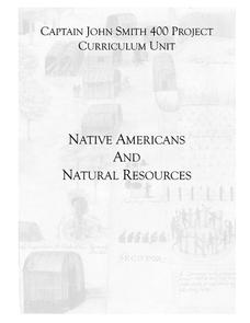 Native Americans and Natural Resources Lesson Plan