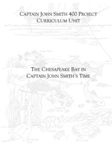 The Chesapeake Bay in Captain John Smith's Time Lesson Plan