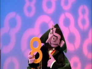 The Count Sings Of 8 Video