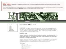 Scopes Trial: 1 Day Lesson Lesson Plan