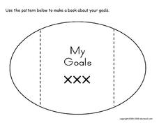 Goals Books, Sports Printables & Template