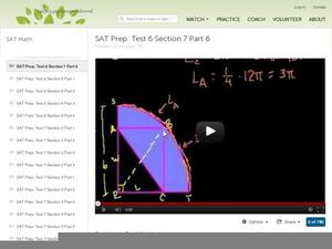 SAT Prep: Test 6 Section 7 Part 6 Video