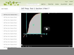 SAT Prep: Test 1 Section 3 Part 7 Video
