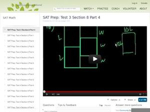 SAT Prep: Test 3 Section 8 Part 4 Video