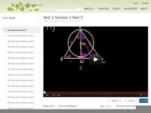 Test 2 Section 2 Part 5 Video