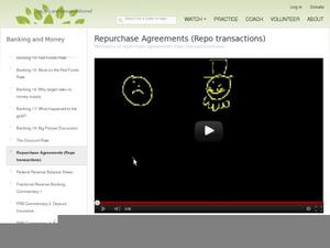 Repurchase Agreements (repo transactions) Video