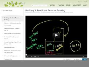 Banking 3: Fractional Reserve Banking Video
