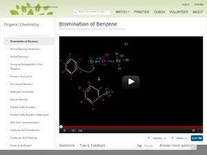 Bromination of Benzene Video