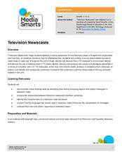 Television Newscasts Lesson Plan