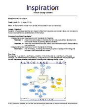 Visual Study Guides Lesson Plan