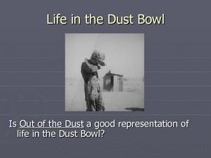 Life in the Dust Bowl Presentation