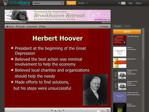 Herbert Hoover and the Dust Bowl Presentation