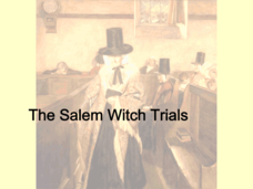 The Salem Witch Trails Presentation