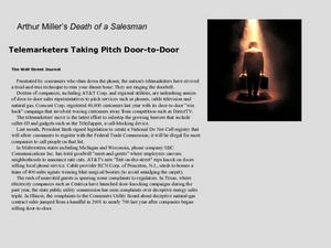 Arthur Miller's Death of a Salesman Presentation