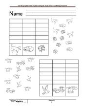 Count the Images! Worksheet