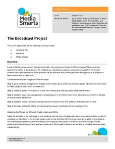 The Broadcast Project Lesson Plan