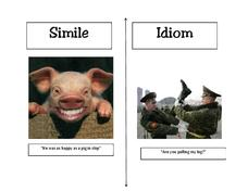 Figurative Language Examples Printables & Template