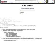 Fire Safety Lesson Plan