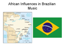 African Influences in Brazilian Music Presentation
