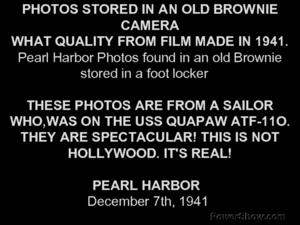Eye Witness Photos: Pear Harbor Presentation