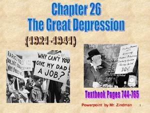 The Great Depression (1921-1941) Presentation
