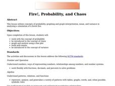 Fire!, Probability, and Chaos Lesson Plan