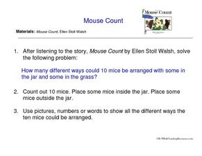 Mouse Count Worksheet
