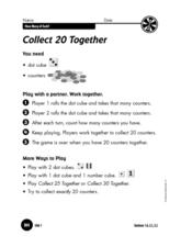 Collect 20 Together Worksheet