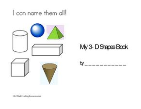 I Can Name Them All! Worksheet