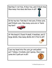 Write Your Own Word Problem! Worksheet